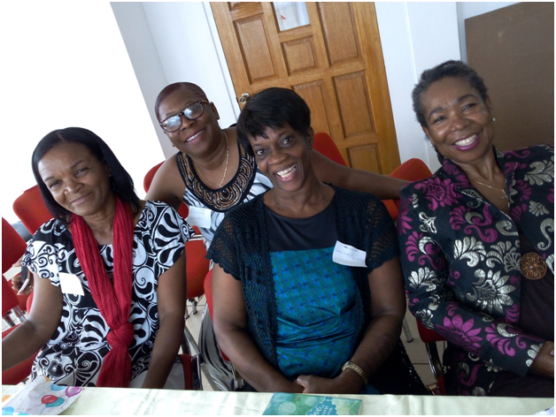 Women at empowerment session on December 27 last year.
