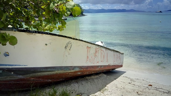 One of the derelict boats removed from Dry Harbour. Photos provided