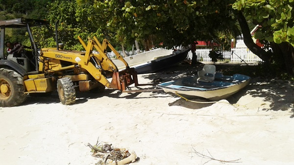 Derelict boat