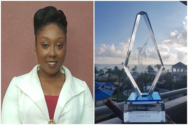 Gabrielle Denae and award