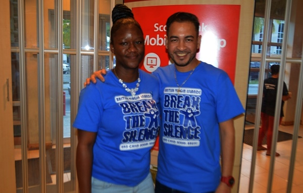 Scotia goes blue to fight child sex abuse