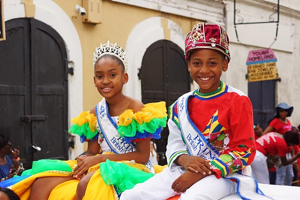 PHOTOS: BVI royalties in USVI parade