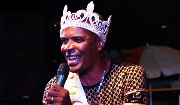 King Paido performing after being crowned the 2017 Calypso monarch for Virgin Gorda