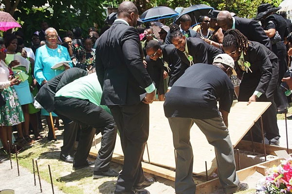 Josephine Rhymer laid to rest