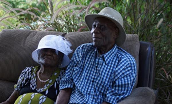 Josephine and William Rhymer. Photo Credit: Andre Dawson/BVI News Online