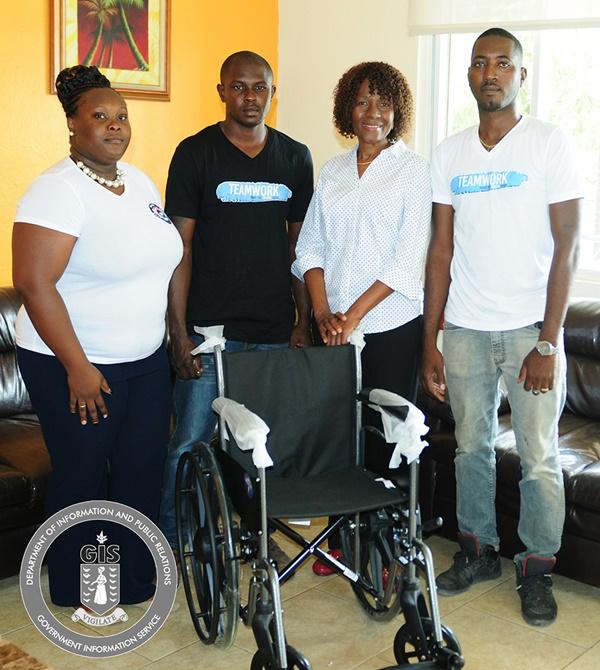 Adina Donovan Home receives wheelchair donation