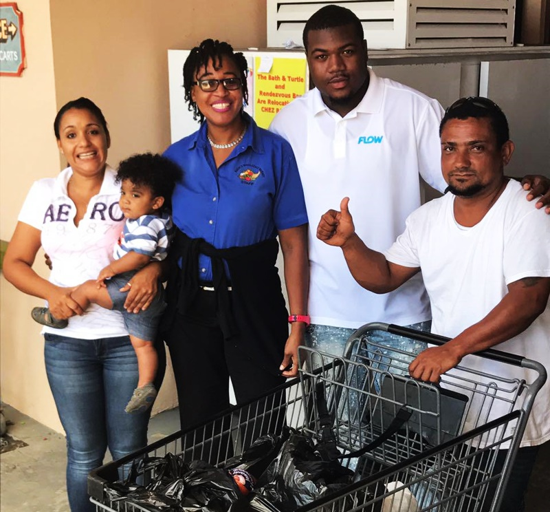 Flow pays mothers' shopping bills
