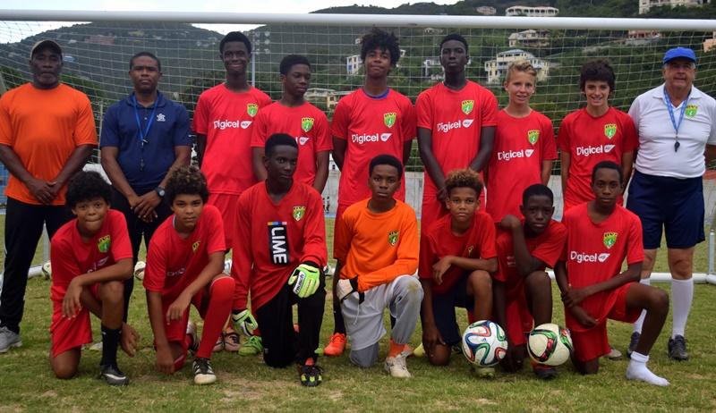 Boys ready to represent BVI abroad