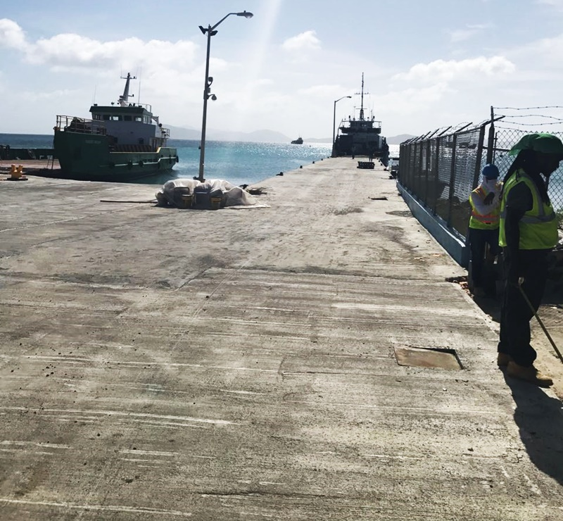 Ferry operation resumes at gov't dock June 1