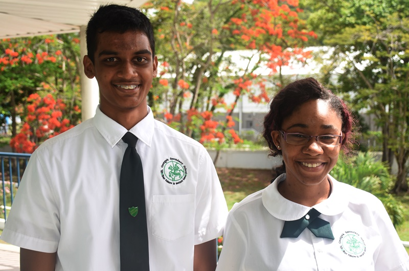 St George's names top students
