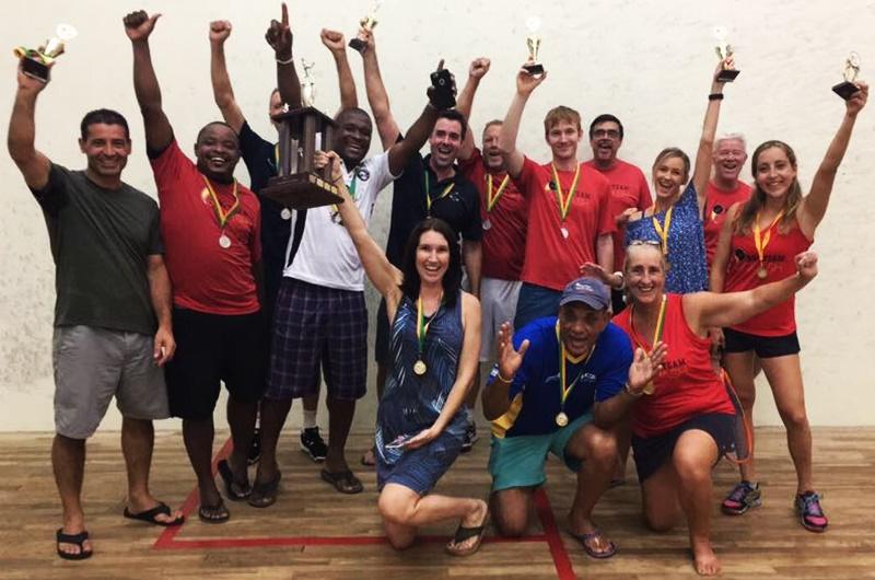 BVI brings home squash championship title