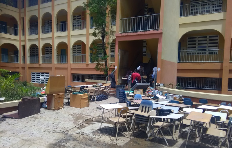Students to gain credit in cleanup