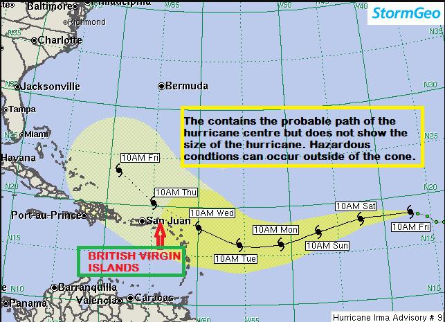 UPDATE: Category 3 hurricane still strengthening