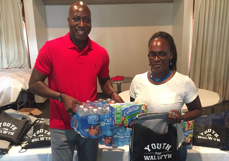 Walwyn's youth giving $25K for back to school