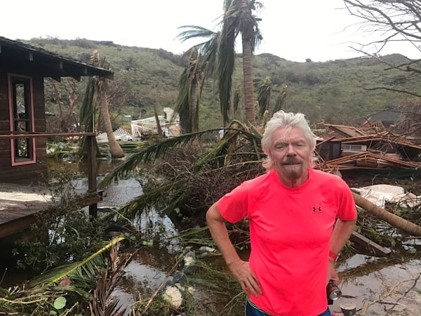 $4 billion to rebuild the BVI – Branson estimates