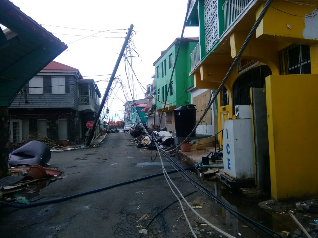 BVIEC: Fallen poles may have live wires