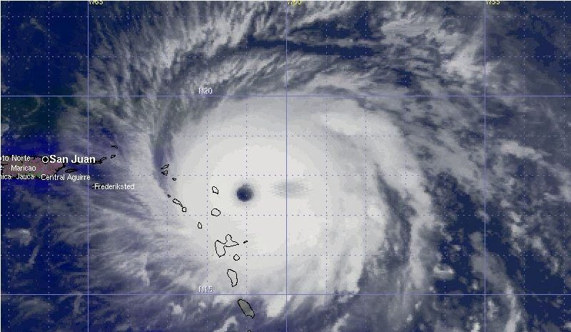 Stay indoors – Hurricane won't weaken for BVI