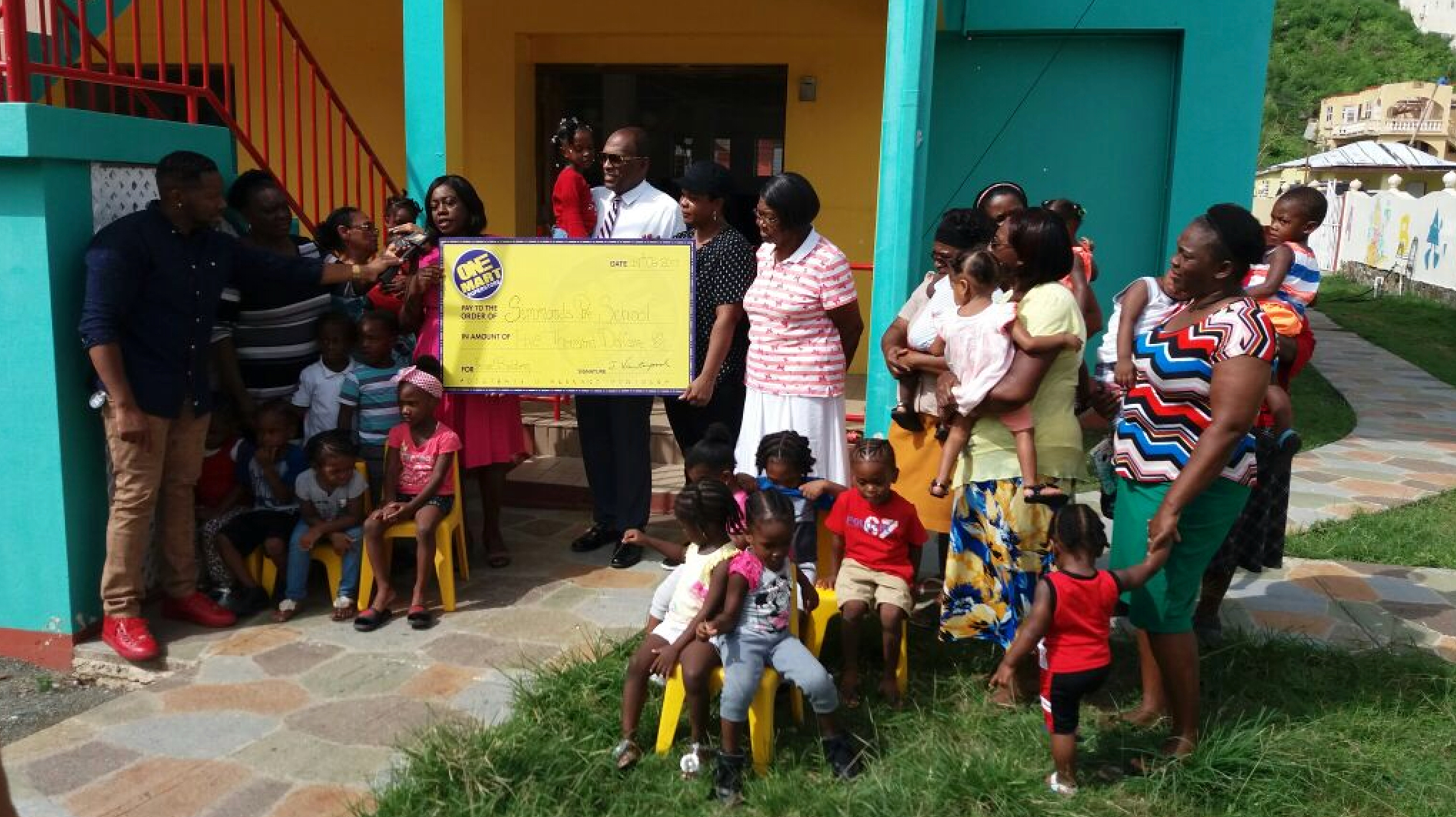 Supermarket donates another $5K to pre-school