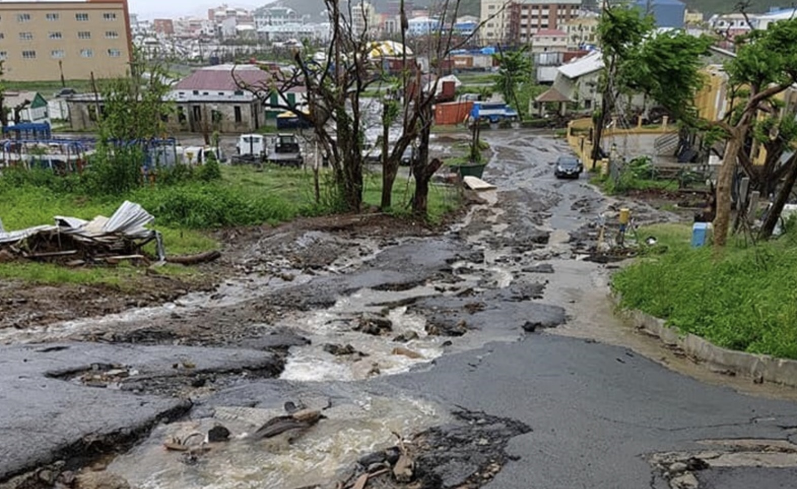 Better roads promised soon; concrete for potholes