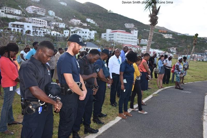 British territory top cops discussing mutual aid agreement