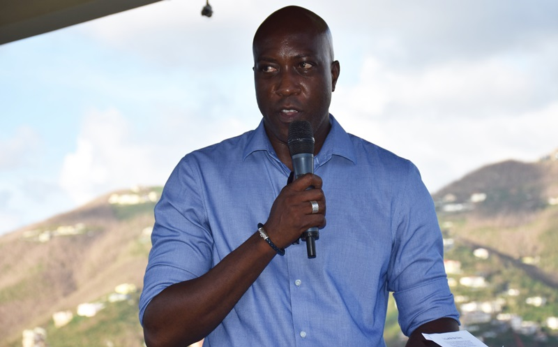 Too much negativity in the territory, Walwyn claims