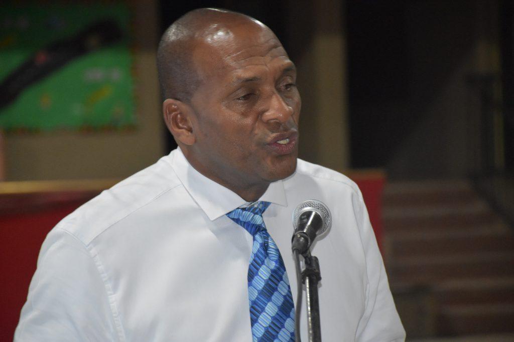 Vanterpool calls for better treatment of white locals