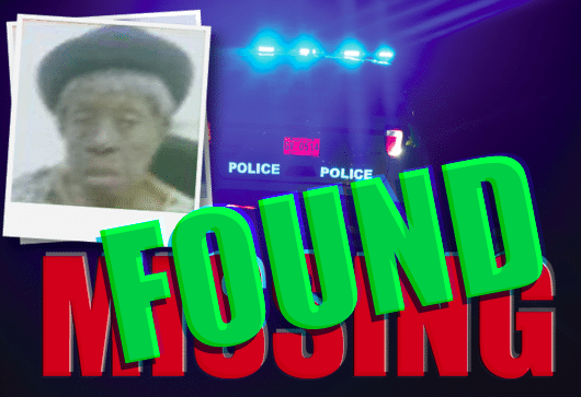 UPDATE: Missing 93-year-old woman found