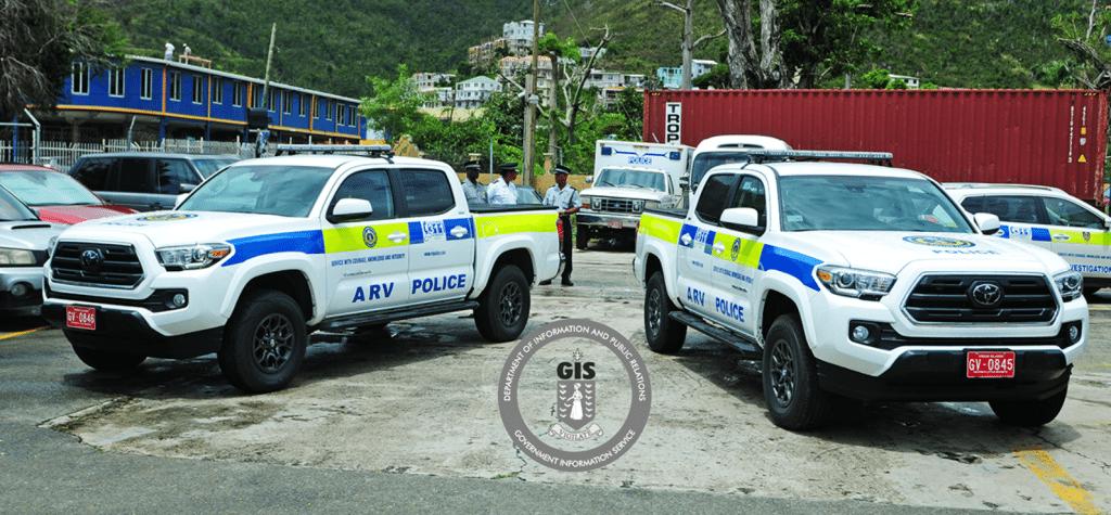 UK donates armed response vehicles to RVIPF
