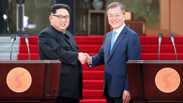 Historic! North and South vow to end Korean war