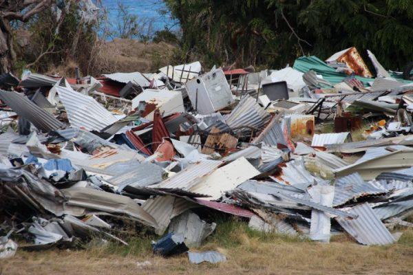 Concerns over metallic dump on VG as hurricane season looms