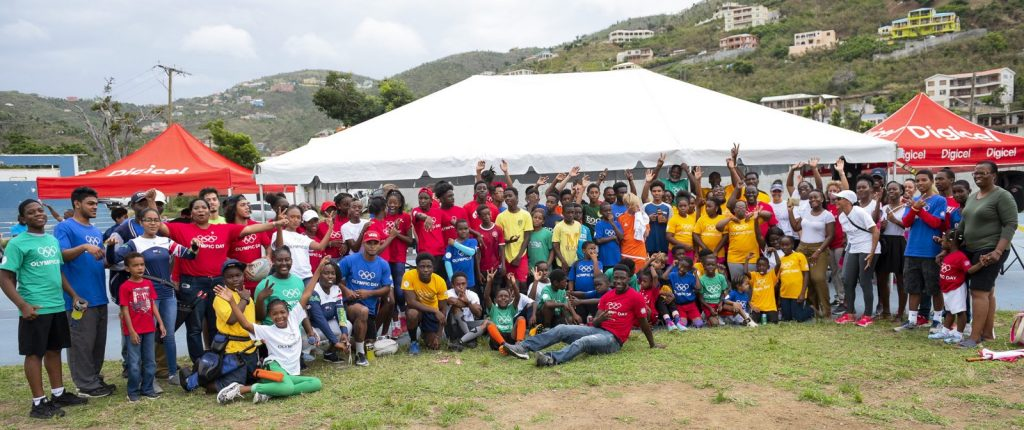 Community joins in BVIOC's Sports Festival