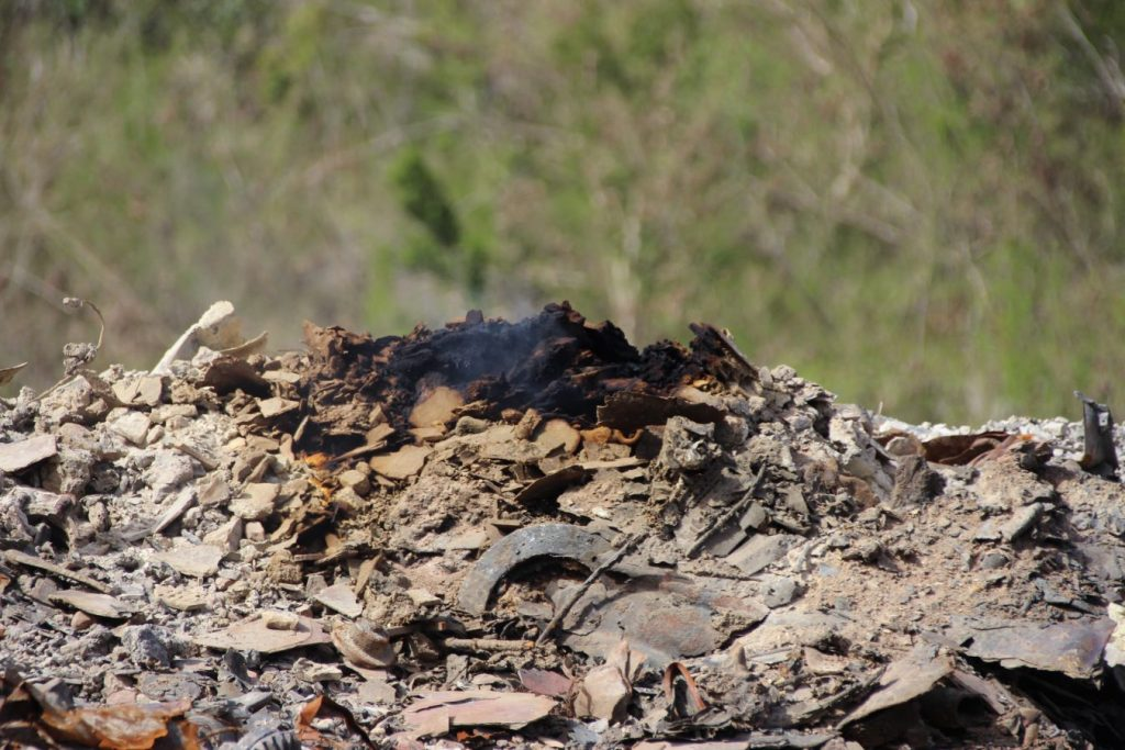 Still burning beneath | DWM awaiting funds to rid Cox Heath of lingering issue