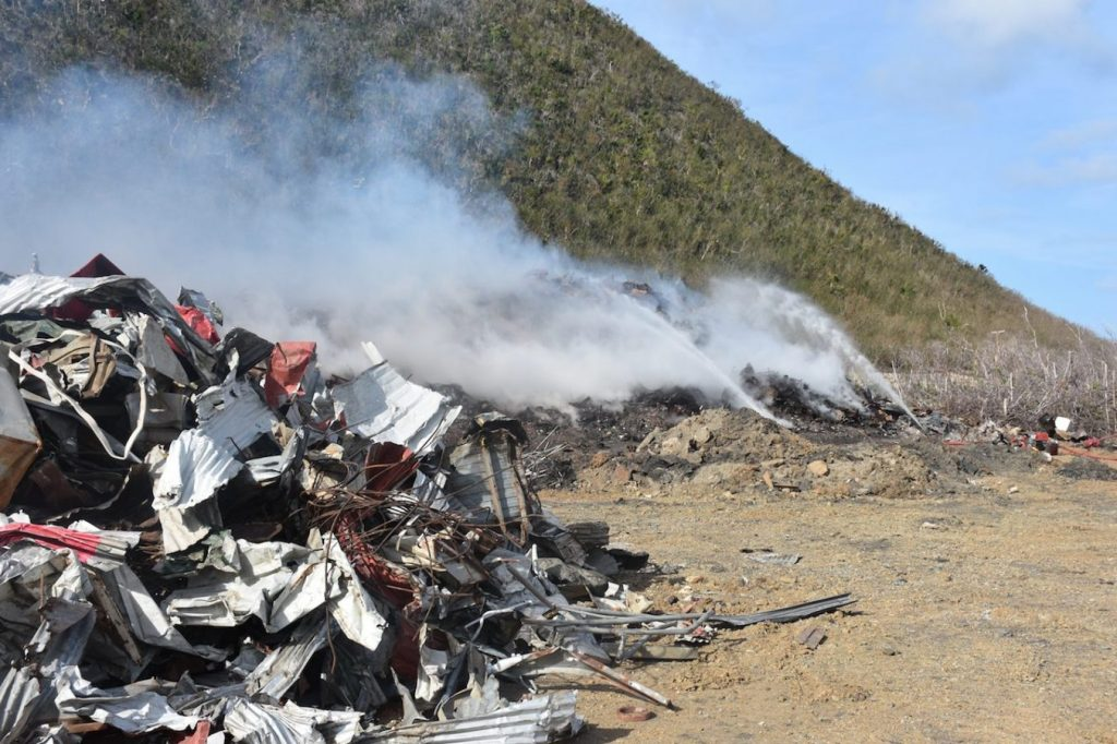 Govt pays company $336K for extinguishing Cox Heath fire, site maintenance