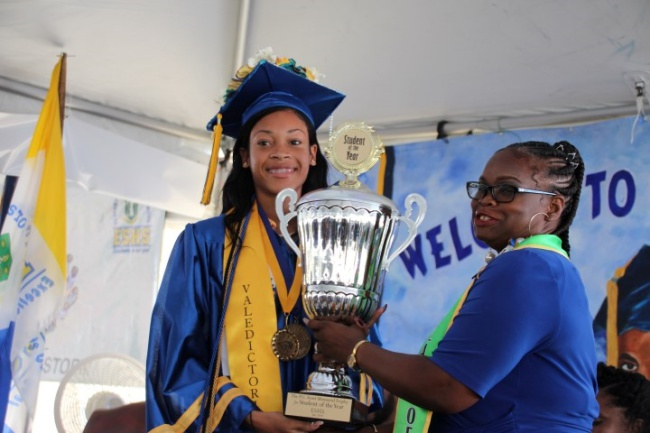 Females dominate top achievers list at ESHS graduation