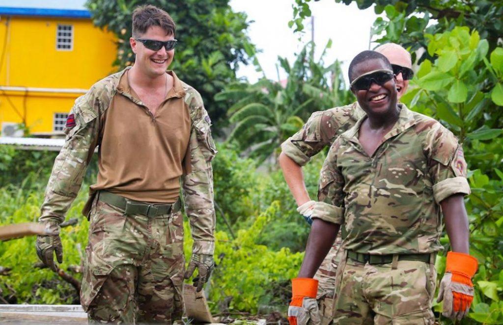 Local authorities undergoing 'training exercise' with UK navy