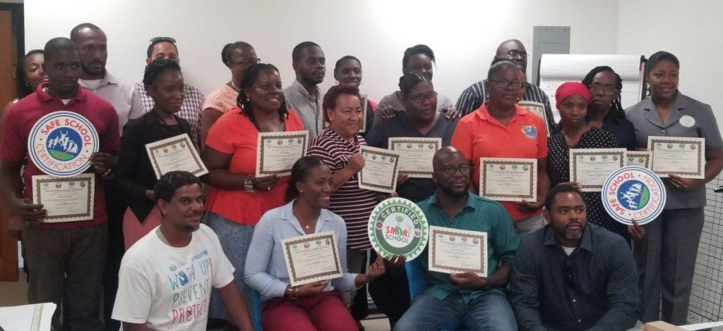 37 trained in SMART school standards