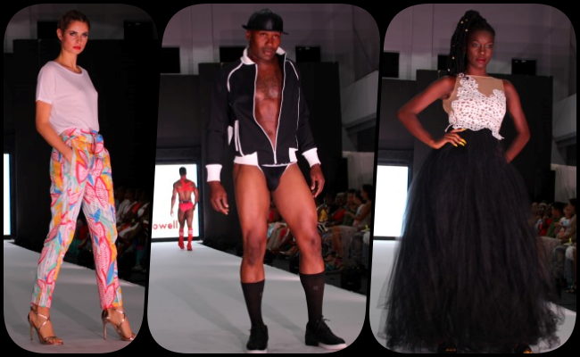 In Pictures: Summer Sizzle's Global Glamour runway show