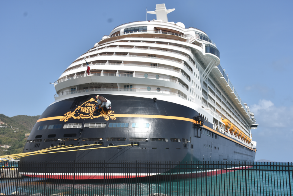 Disney Fantasy cancels call to BVI due to Tropical Storm Dorian