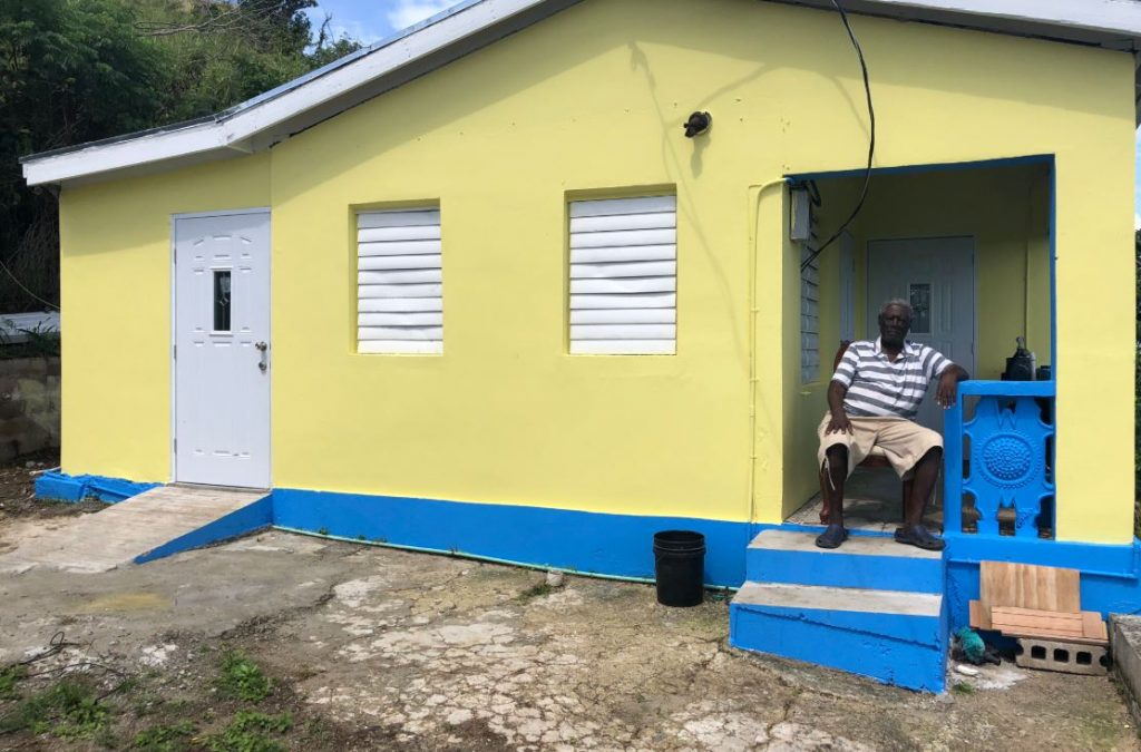 Gov't ending material grant assistance to hurricane-hit homeowners
