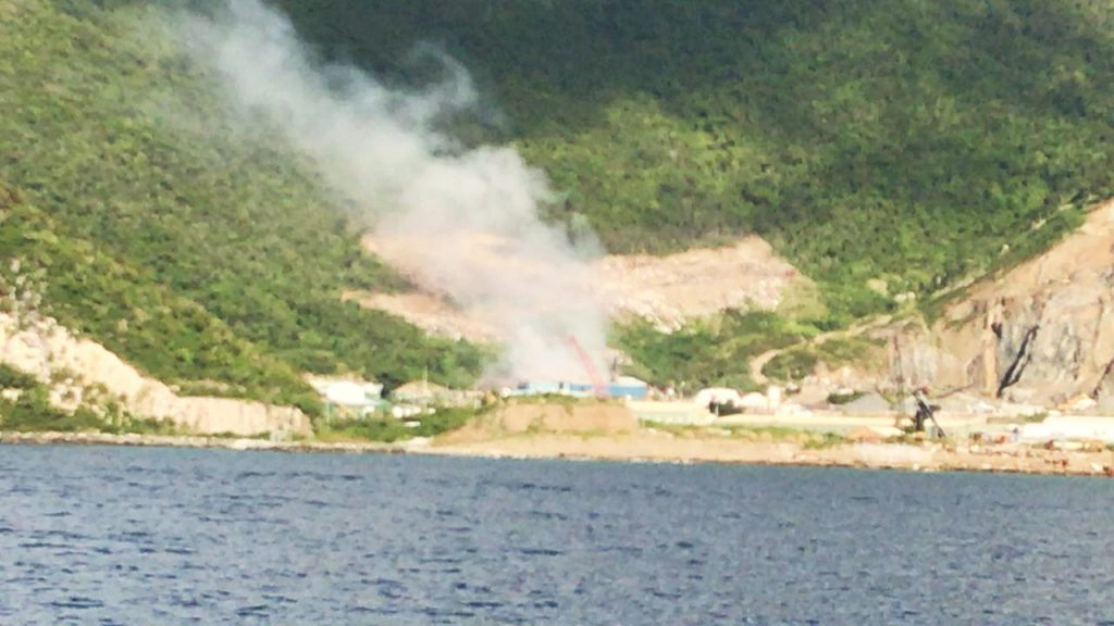 Incinerator still defunct, | 'consultancy issues' plague scrubber installation