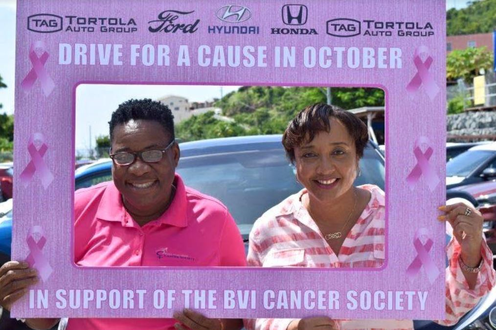 TAG concludes successful drive to assist BVI Cancer Society