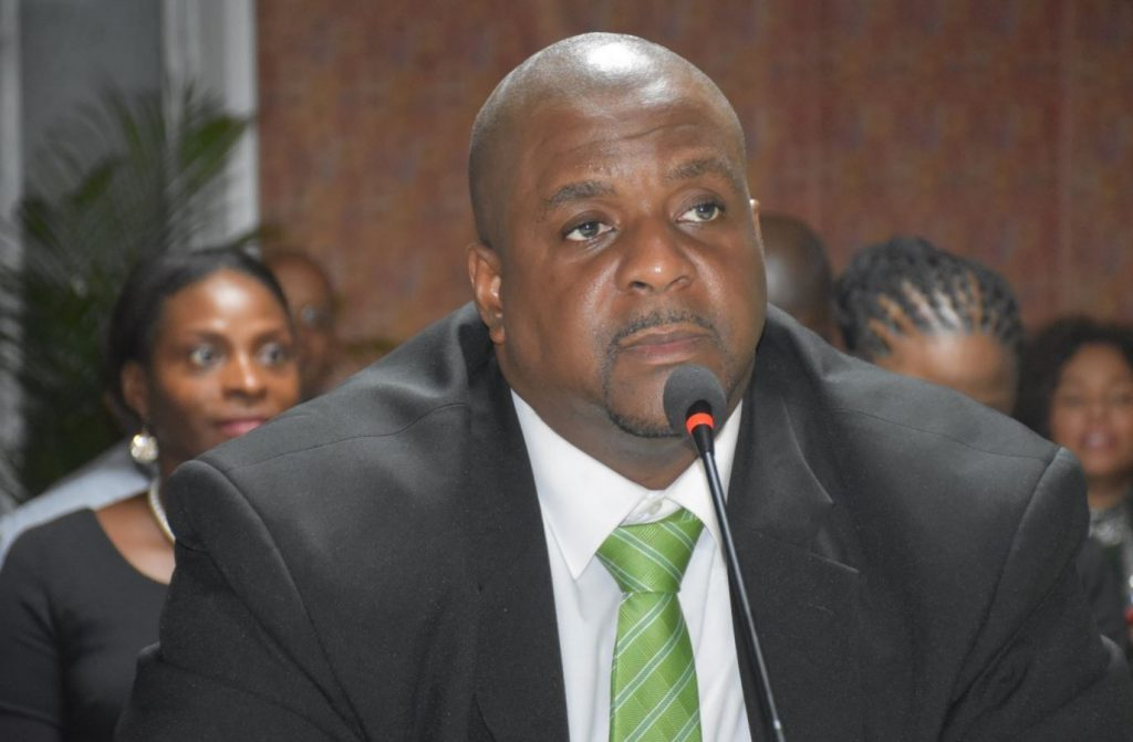 Fahie attends first overseas meeting, Wheatley Acting Premier