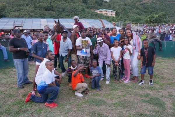 Successful return of horseracing to BVI | USVI overall winners of Box Day event