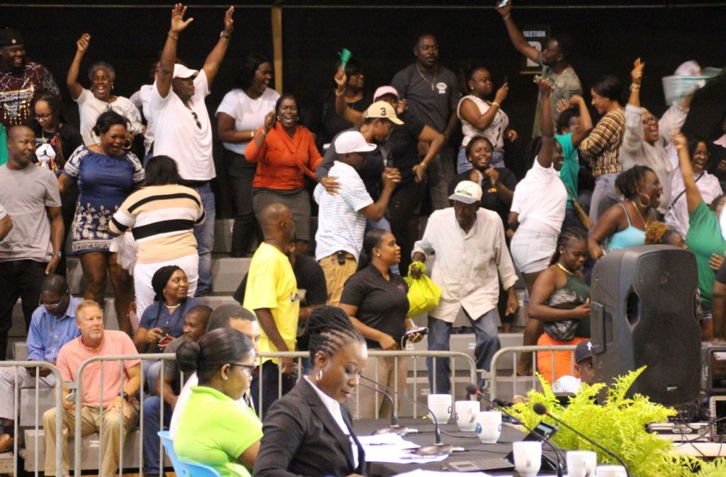 UPDATE: Election results, VIP wins! Walwyn not elected