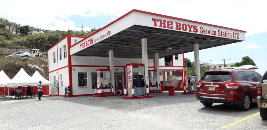 The Boys open another gas station on Tortola, plans to go territory-wide