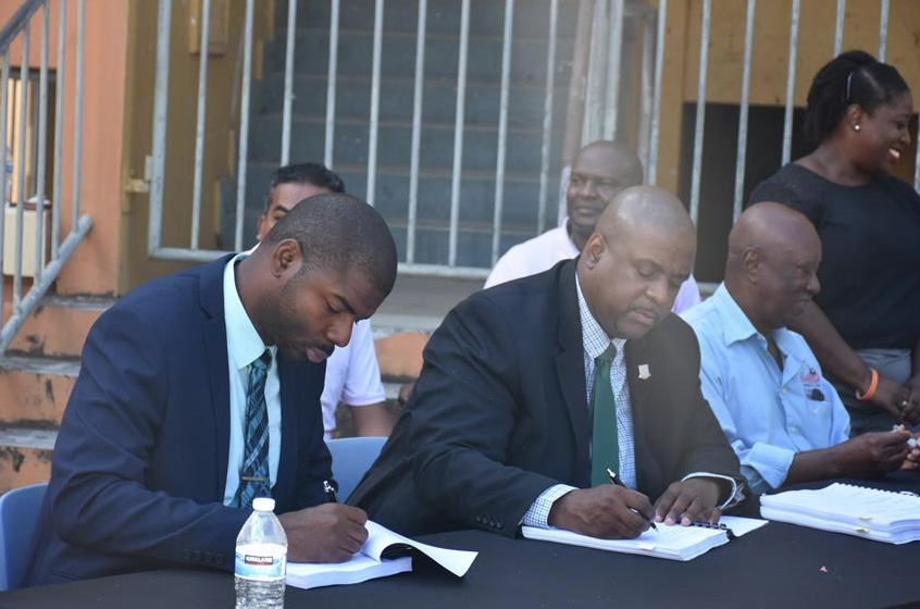 $3.7M to restore ESHS L-shaped building, gov't signs four contracts