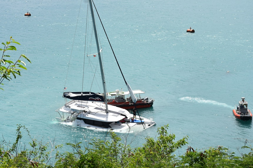 UPDATE: Charter boat collision caused vessel to sink, passengers unharmed