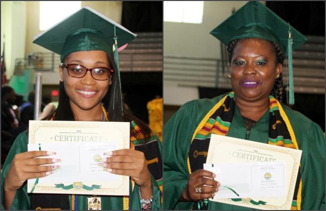 PHOTOS: Less than 100 HLSCC graduates this year, females top honour roll