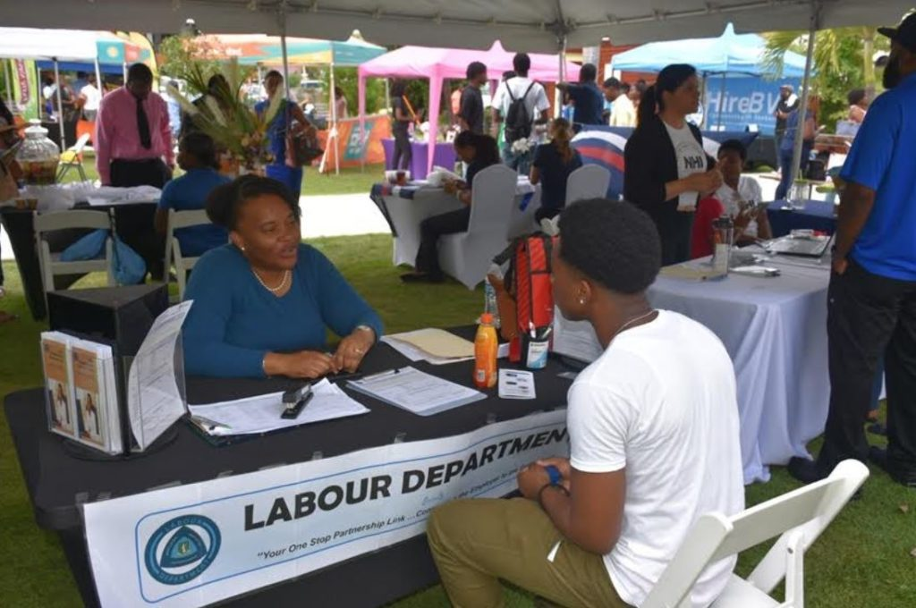 Job seekers flock career expo, 30+ businesses participate
