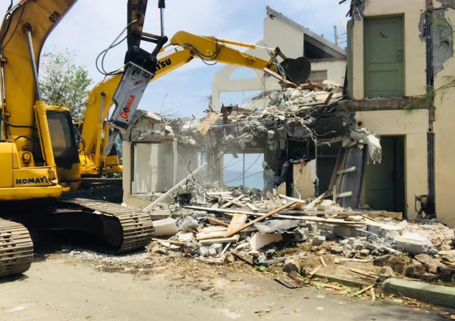 Demolition begins | Long Bay Beach Club to be redeveloped